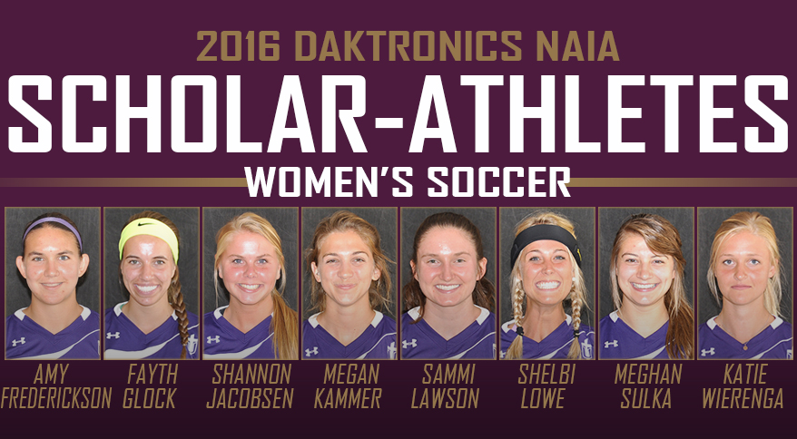 Photo for Women's Soccer Earns Eight NAIA Scholar-Athlete Awards