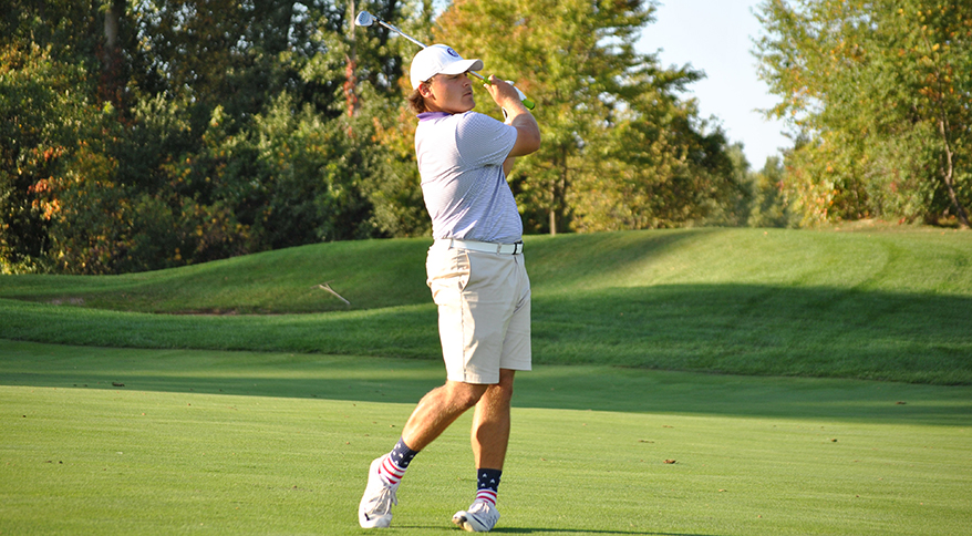 Photo for Men's Golf Rolls to 32-Shot Victory at Eagle Eye
