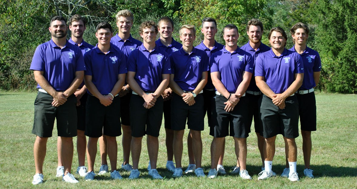 2017-18 Men's Golf Team Photo